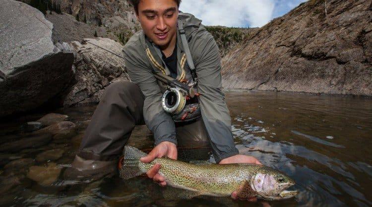 Hvis man anskuer lystfiskeri som forbrug af en ressource, så er det nok blandt de mest skånsomme måder at udnytte et vandløbs fisk på