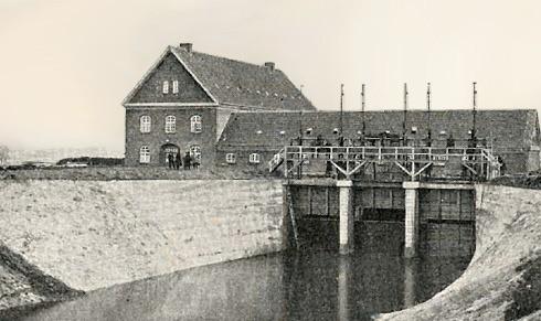 Tangeværket startede el-produktionen i 1921